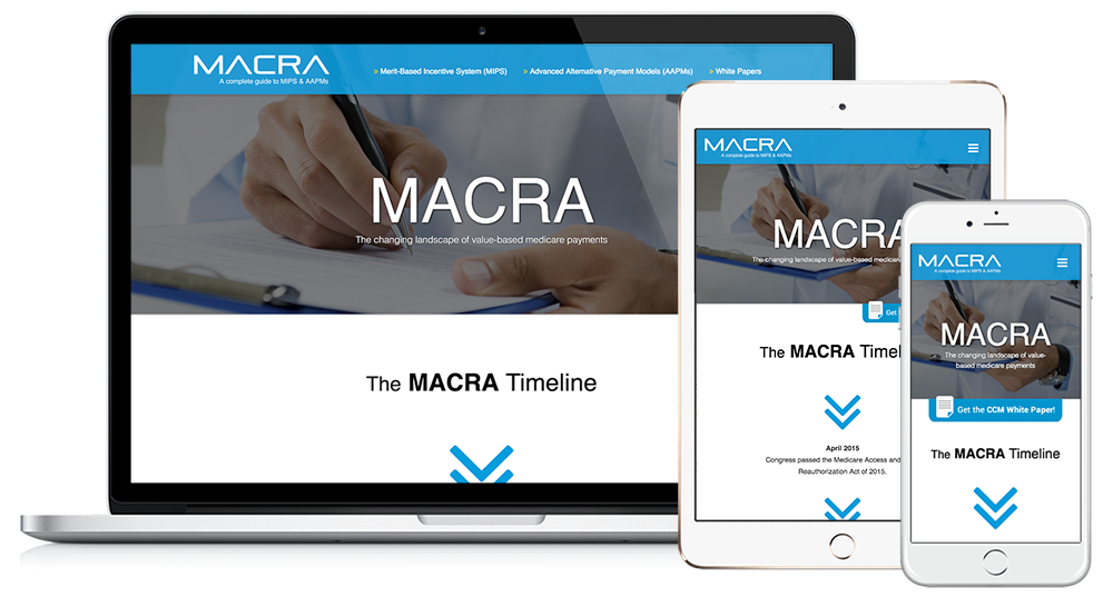 MACRA MIPS & APMS Web Design // Image Design Digital Marketing