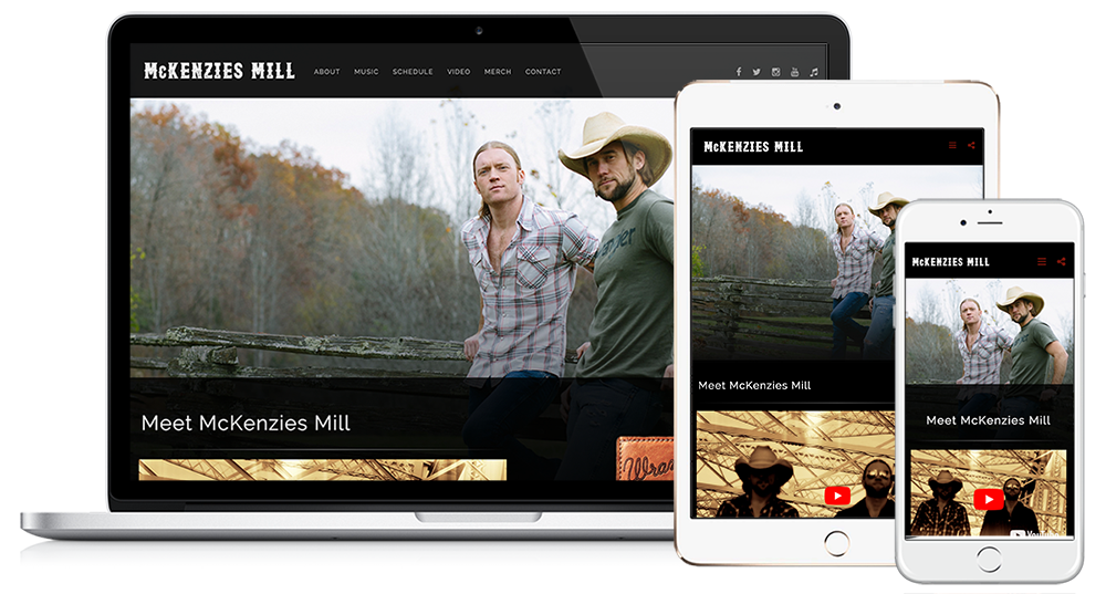 Image Design Responsive Website Design | McKenzies Mill