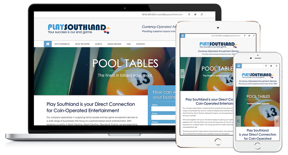 Play Southland Web Design // Image Design Digital Marketing
